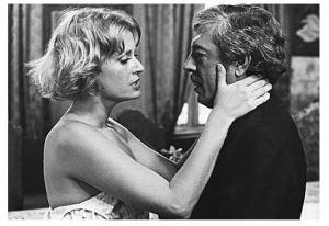 Cena da adaptação do romance para o cinema - Direção de Arnaldo Jabor, 1975